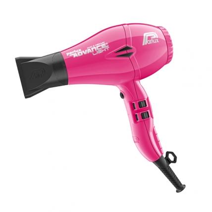 Parlux Advance Light Ionic Ceramic - Фен для волос (фуксия, 2200W)