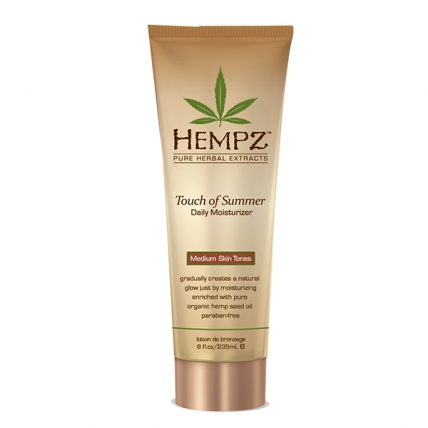 Hempz Touch of Summer Medium Skin Tones - Молочко для тела с Бронзантом, 235мл