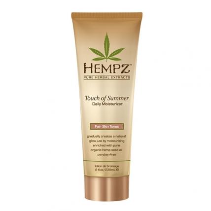 Hempz Touch of Summer Fair Skin Tones - Молочко для тела с Бронзантом, 235мл