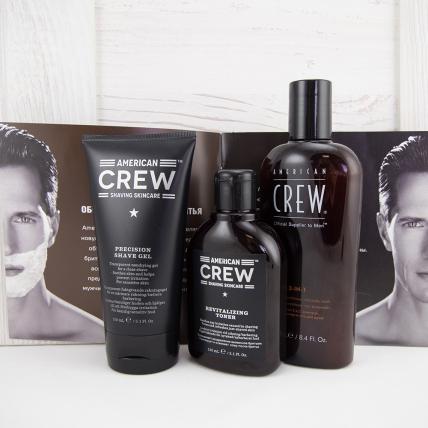 Набор American Crew для бритья и ухода за кожей