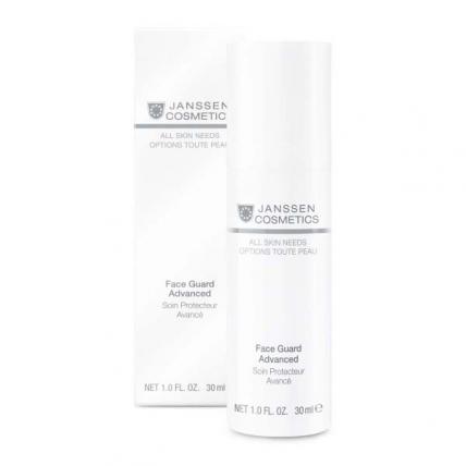 Janssen Cosmetics All Skin Needs Face Guard Advanced - Легкая солнцезащитная основа SPF-30 с UVA-, UVB- и IR-защитой, 30мл