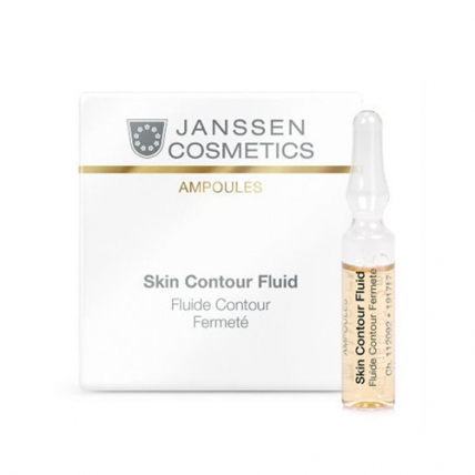 Janssen Cosmetics Ampoules Skin Contour Fluid - Anti-age лифтинг-сыворотка, 7*2мл