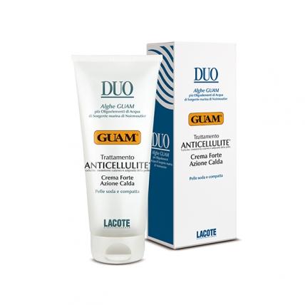 Guam Duo - Крем антицеллюлитный с разогревающим эффектом интенсивный, 200мл