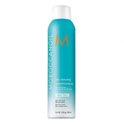 Moroccanoil Dry Shampoo Light Tones - Сухой шампунь для светлых волос, 205мл