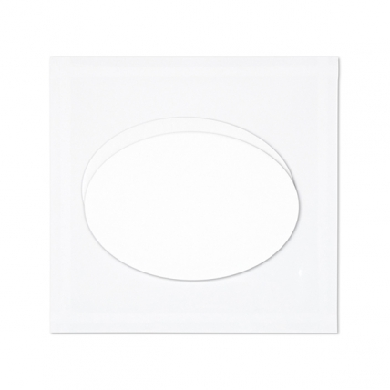 Janssen Cosmetics Derma Fleece Mask Eye Contour Pad - Коллаген для глаз (овалы), 1шт