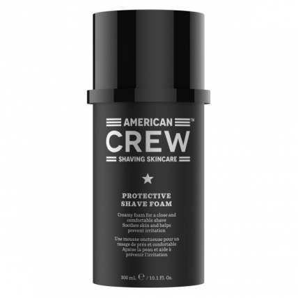 American Crew Shaving Skincare Protective Shave Foam - Защитная пена для бритья, 300мл