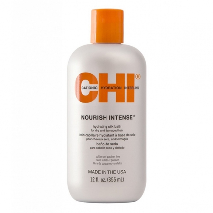 CHI Nourish Intense Shampoo - Шампунь для сухих и поврежденных волос, 355мл