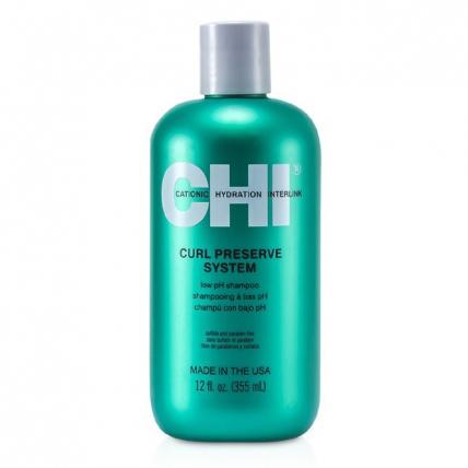 CHI Curl Preserve Low PH Shampoo - Шампунь для кудрявых волос, 355мл