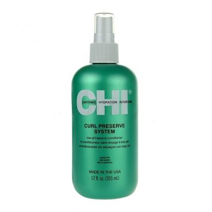 CHI Curl Preserve Leave-in Treatment - Кондиционер несмываемый для кудрявых волос, 355мл