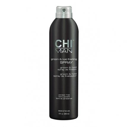 CHI MAN Groom and Hold Finishing Spray - Спрей для завершения укладки, 200мл