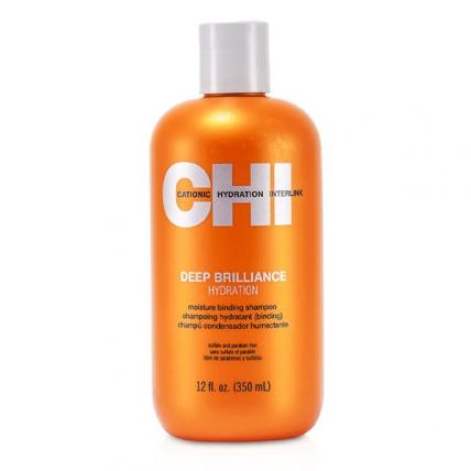 "CHI Deep Brilliance Hydration Shampoo - Шампунь увлажняющий ""Глубокий блеск"", 350мл"