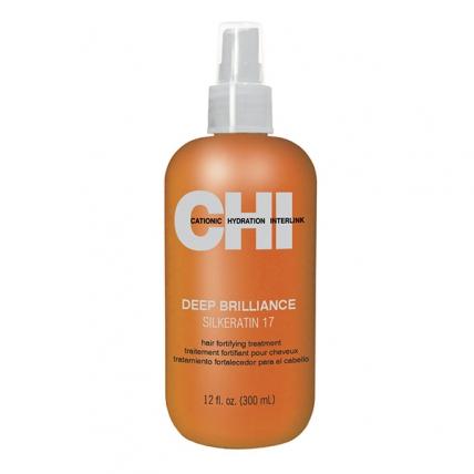 """CHI Deep Brilliance Silk Keratin - Кондиционер концентрированный с кератином """"Глубокий блеск"""", 350мл"""