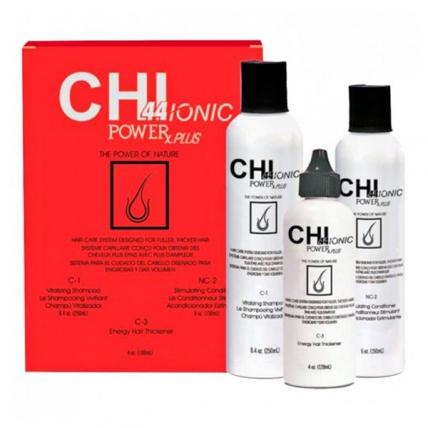 CHI 44 Ionic Power Plus Hair Loss Kit - Набор для химически обработанных волос