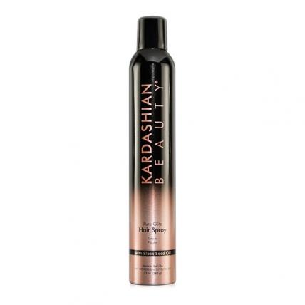 CHI Kardashian Beauty Black Pure Glitz Hair Spray Haz 2 - Лак для волос, 360мл