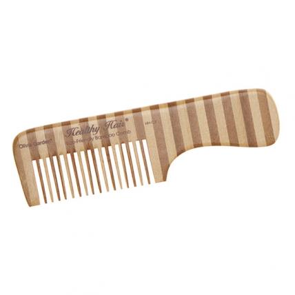Olivia Garden - Гребень для волос бамбуковый с ручкой С3