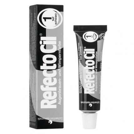 RefectoCil №1 - Краска для бровей и ресниц (черный), 15мл