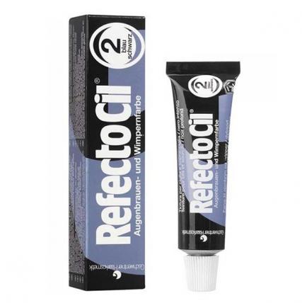 RefectoCil №2 - Краска для бровей и ресниц (иссиня-черный), 15мл