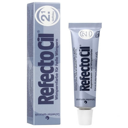 RefectoCil №2.1 - Краска для бровей и ресниц (синий), 15мл