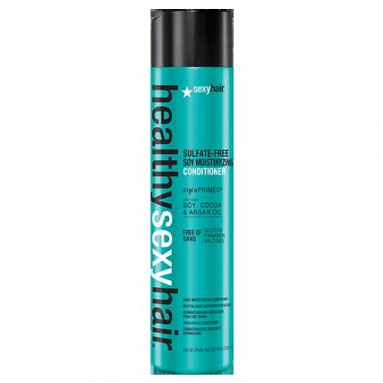 SexyHair Sulfate Free Soy Moisturizing Conditioner - Кондиционер на соевом молоке для обычных и окрашенных волос, 300мл