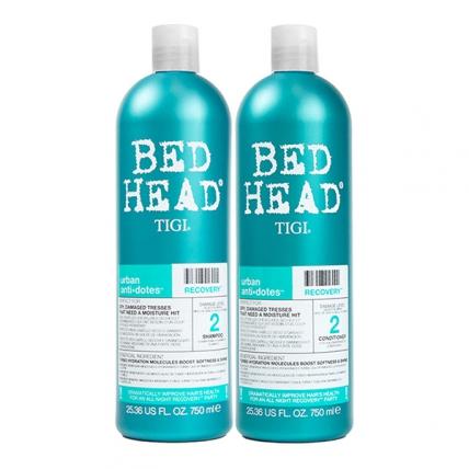 Tigi Bed Head Urban Anti+dotes Recovery - Набор для поврежденных волос (шампунь 750мл+кондиционер 750мл)