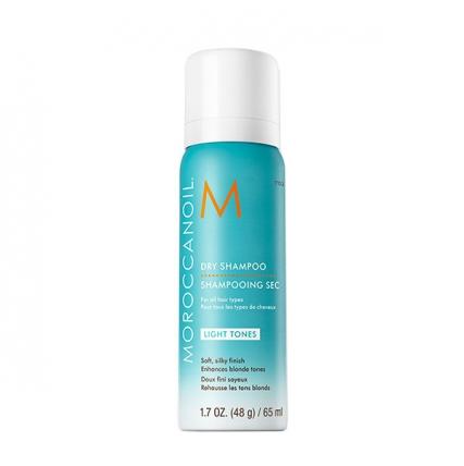 Moroccanoil Dry Shampoo Light Tones - Сухой шампунь для светлых волос, 65мл