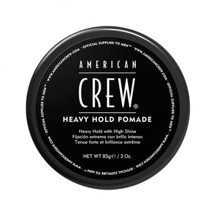 American Crew Heavy Hold Pomade - Помада сильной фиксации, 85гр
