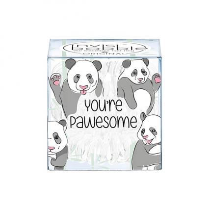 Invisibobble Original You're Pawesome! - Резинка-браслет для волос, молочный, 3шт