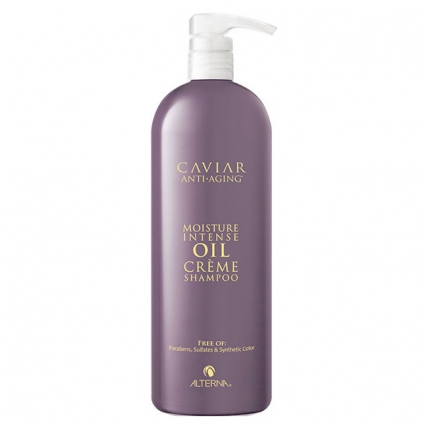 Alterna Caviar Anti-Aging Moisture Intense Oil Creme Sampoo - Шампунь очищающий, 1000мл