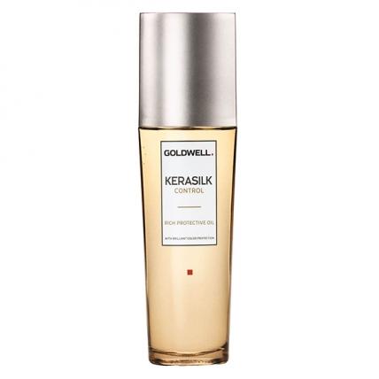 Goldwell Kerasilk Premium Control Rich Protective Oil - Масло защитное, 75мл