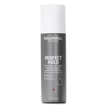Goldwell Stylesign Perfect Hold STS Magic Finish - Спрей-лак жидкий для подвижной фиксации, 200мл