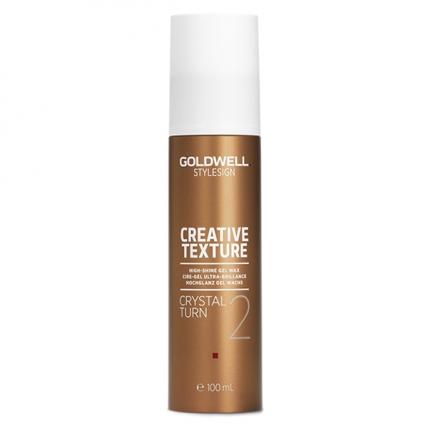 Goldwell Stylesign Creative Texture TS Crystal Turn - Гель-воск с кристальным блеском, 100мл