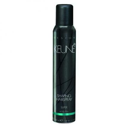 Keune Shaping Hairspray Super - Лак формирующий Супер Сильной фиксации, 300мл