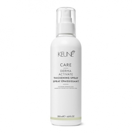 Keune Care Derma Activate Thickening Spray - Укрепляющий спрей против выпадения волос, 200мл