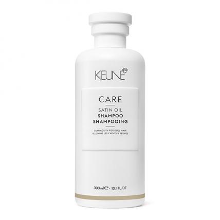Keune Care Satin Oil - Шампунь Шелковый уход для сухих и тусклых волос, 300мл