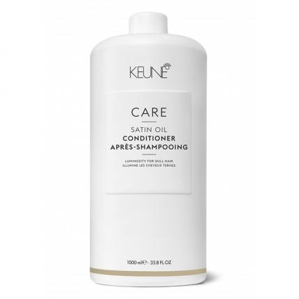 Keune Care Satin Oil - Кондиционер Шелковый уход для сухих и тусклых волос, 1000мл