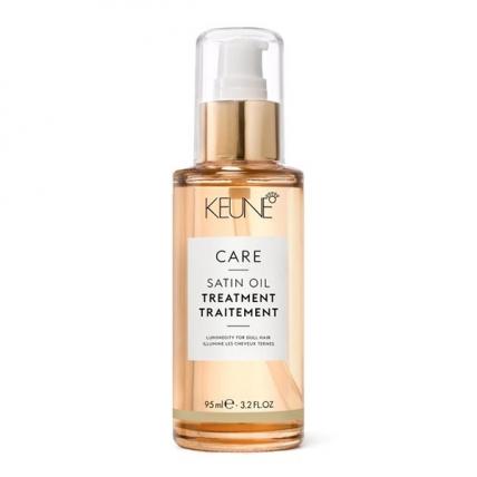 Keune Care Satin Oil - Масло для волос Шелковый уход для сухих и тусклых волос, 95мл