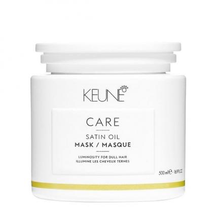 Keune Care Satin Oil - Маска Шелковый уход для сухих и тусклых волос, 500мл