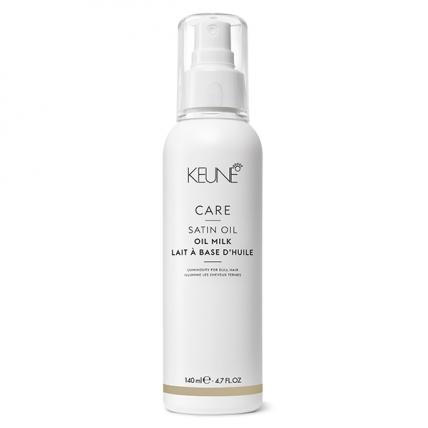Keune Care Satin Oil - Масло-молочко Шелковый уход для сухих и тусклых волос, 140мл