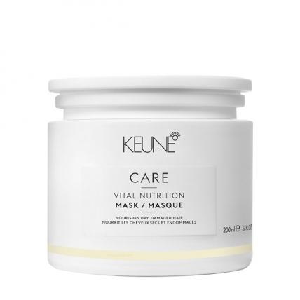 Keune Care Vital Nutrition - Маска Основное питание, 200мл
