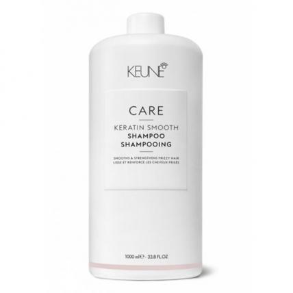 Keune Care Keratin Smooth - Шампунь Кератиновый комплекс для гладкости волос, 1000мл