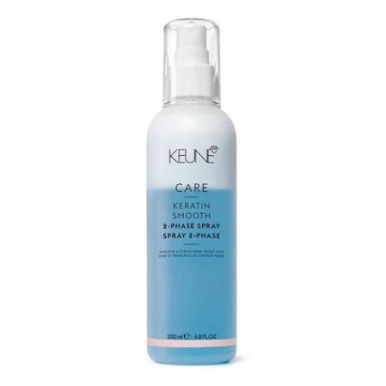 Keune Care Keratin Smooth - Кондиционер-спрей Кератиновый комплекс для гладкости волос, 200мл