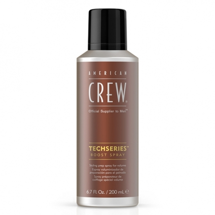 America Crew Boost Spray Techseries - Спрей для объема волос, 200мл