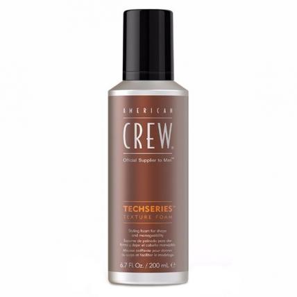 America Crew Texture Foam Techseries - Пена для укладки волос, 200мл