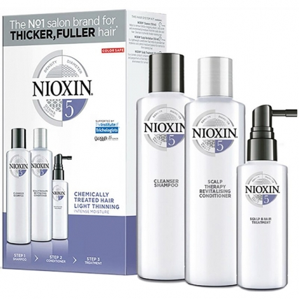 Nioxin System 5 XXL - Набор (шампунь300мл + кондиционер300мл + маска100мл)