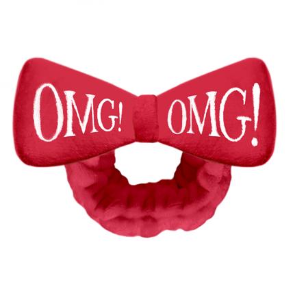 Double dare OMG! - Бант-повязка для фиксации волос красная