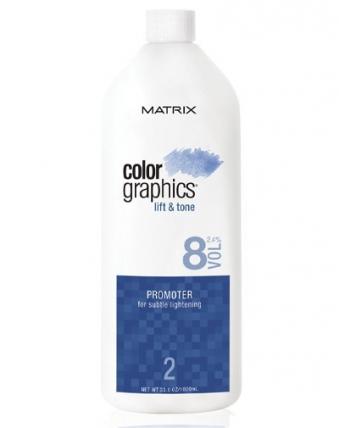 Matrix ColorGraphics Lift&Tone - Активатор 2,4% (8V) 946мл