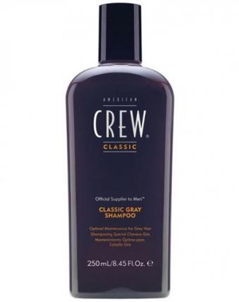 American Crew Classic Gray - Шампунь для седых волос, 250мл