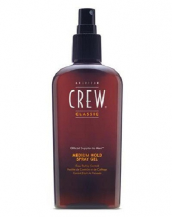 American Crew Classic Medium Hold Spray Gel - Спрей-гель для укладки, 250мл