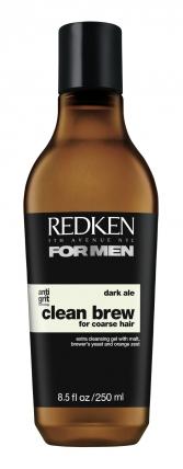 Redken Clean Brew Dark Ale - Шампунь очищающий, 250мл