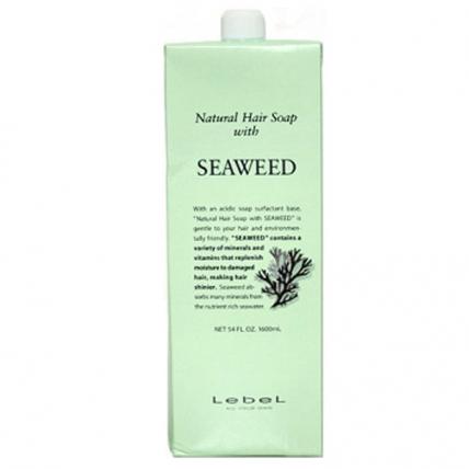 Lebel NHS Seaweed - Шампунь для волос «Морские водоросли», 1600мл